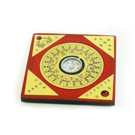Brujula feng shui 8 x 8 cm el secreto del tarot - Brujula feng shui ...
