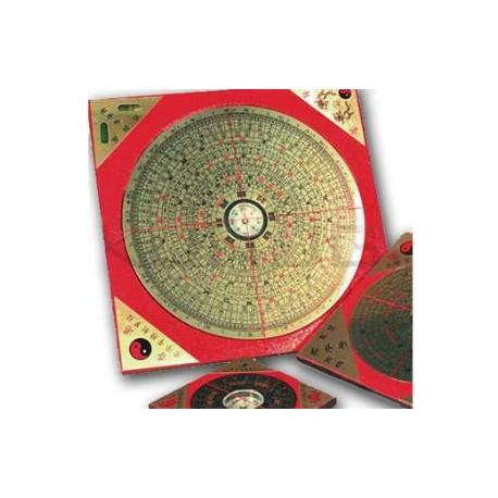 Brujula metalica feg shui cuadrada 15 cm el secreto del - Brujula feng shui ...