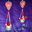 Globos artesanales San Valentín