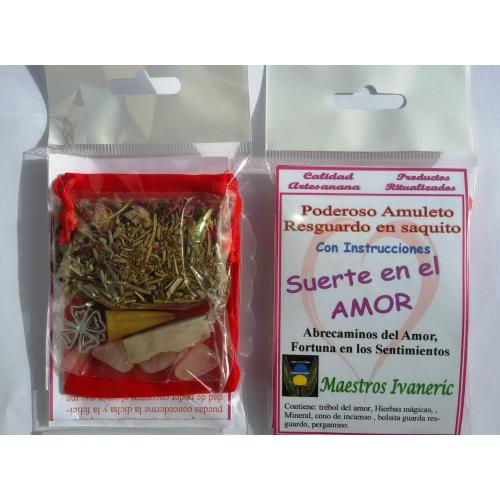 Poderoso Amuleto Resguardo Suerte en el Amor