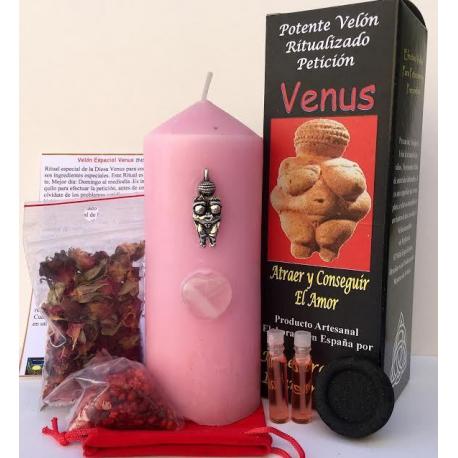 Velón Especial Potenciado de Petición Venus, Amor