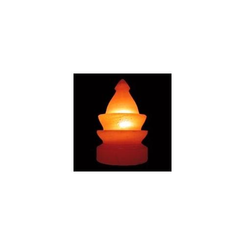 Lámpara Artesanal de Sal en Forma de Fuente, de 2 a 4 Kg