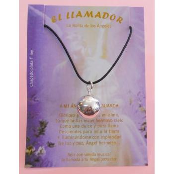 LLAMADOR DE ANGELES BAÑO PLATA GRANDE