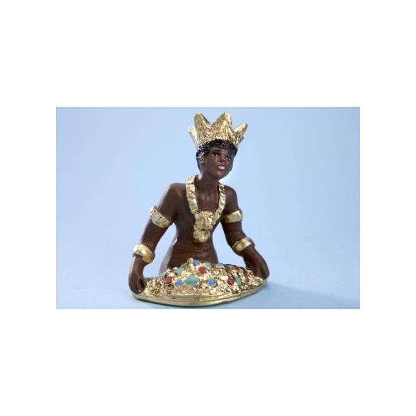 FIGURA XANGO, 10 CM. ( Dios del fuego y de la justicia)