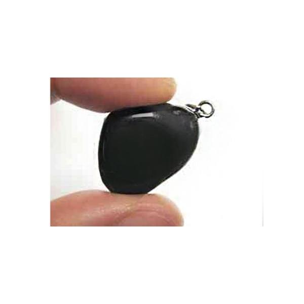 COLGANTE MINI ENGARZADO ONIX 1.5 cm