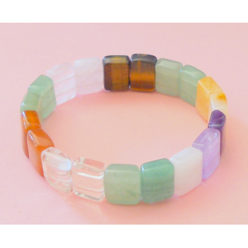 PULSERA MULTIMINERAL RECTANGULAR