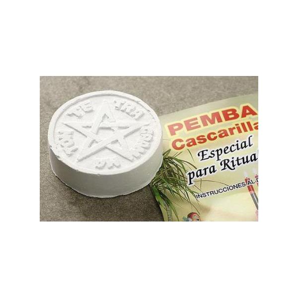 CASCARILLA PEMBA CON PENTAGRAMA