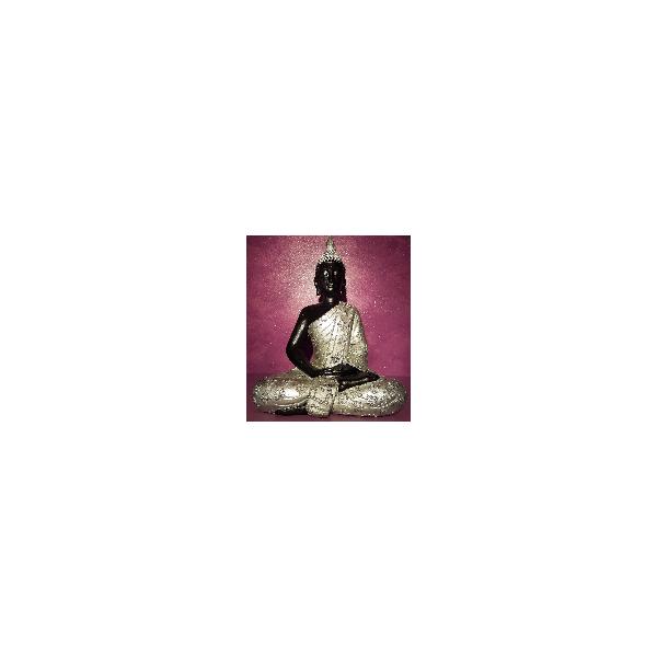 Buda Plateado 41 cm
