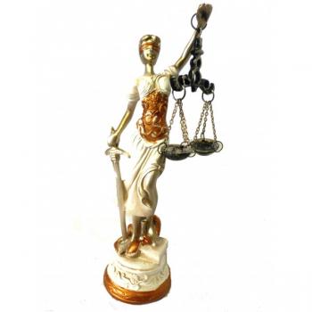 DAMA DE LA JUSTICIA 20 CM