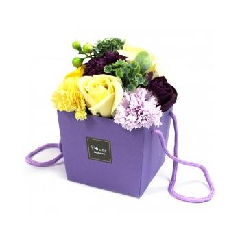 Bouquet Flores Jabón-Jardín de verano