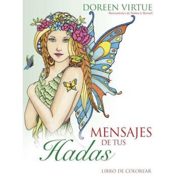 Mensajes de tus Hadas, libro para colorear