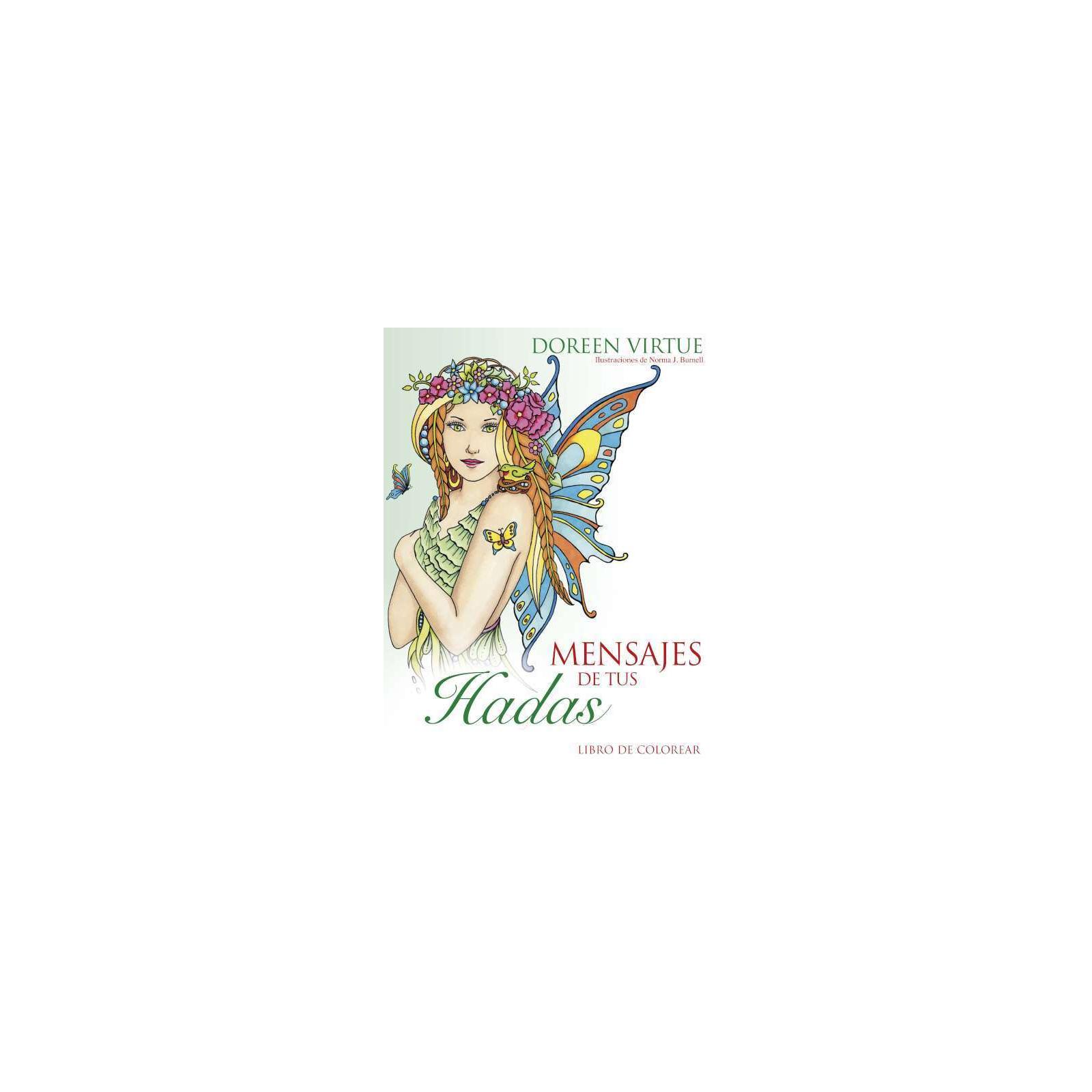 Mensajes de tus Hadas, libro para colorear - El Secreto del Tarot