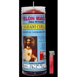 VELON PRO SAGRADO CORAZON DE JESUS