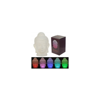 Lámpara LED que cambia de color - Buda 15 cm