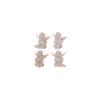 Querubines Blancos con Estrella