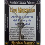 Talismán Artesano Llave Abrecaminos