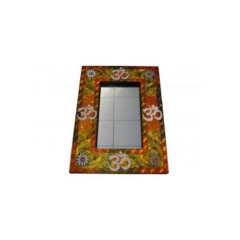 Espejo Dorado 80 x 58 cm