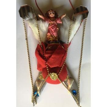 Amuleto Cuchillo Protección del hogar-Negocios San Martín Caballero. 25cm