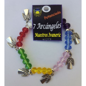 Pulsera Artesanal de Propósito 7 Arcángeles