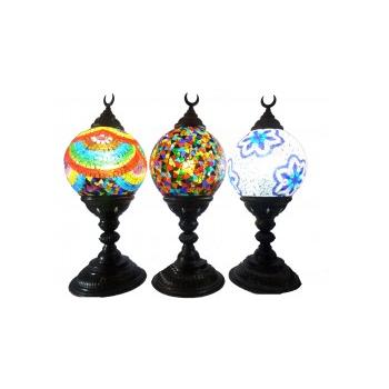 Lámpara Turca Media Luna Redonda (Diseños Variados)