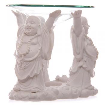 Quemador de Aceite 3 Budas Riéndose