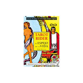 Pack Libro mas cartas de Tarot. Rider Waite