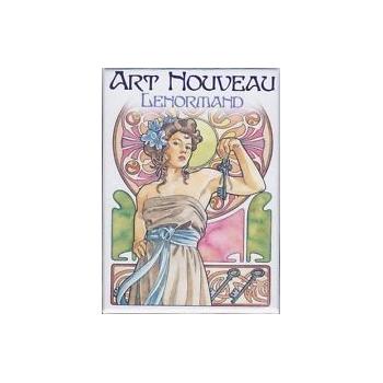 Art Nouveau Lenormand. Libro mas cartas