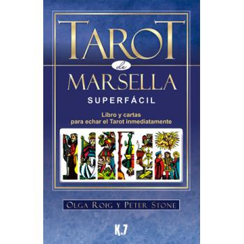 El Tarot de Marsella Super Fácil, Libro mas Cartas