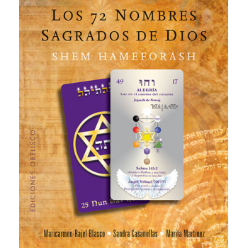 Los 72 Nombres Sagrados de Dios. Libro mas Cartas
