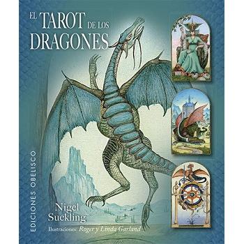 Pack El Tarot de los Dragones, libro mas cartas de Tarot