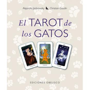 Pack el Tarot de los Gatos, libro mas cartas de Tarot