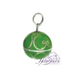 Arabescos color Verde 15 mm