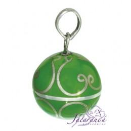 Arabescos color Verde 21 mm