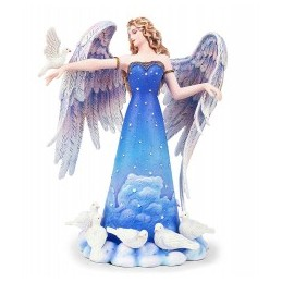 ANGEL GARD. CON PALOMA 23CM