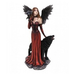 ANGEL GUARD. CON LOBO 31 CM
