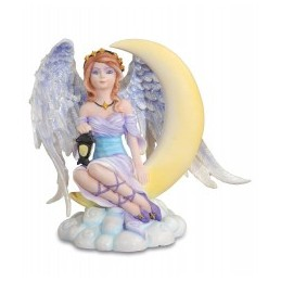 ANGEL GUARD.CON LUNA 14CM