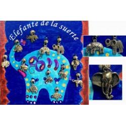 COLGANTE ELEFANTE DE LA SUERTE 6 X 2.5