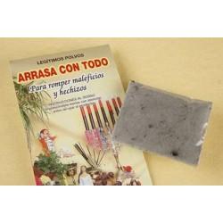 POLVO ARRASA CON TODO (contra maleficios hechizos)