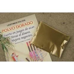 POLVO DORADO (suerte en juegos de azar y negocios)