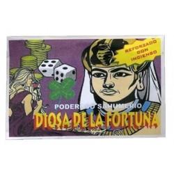SAHUMERIO DIOSA DE LA FORTUNA 14 X 9 X 1 CM (5gr. APROX)