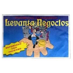 SAHUMERIO LEVANTA NEGOCIOS 14 X 9 X 1 CM (5gr. APROX)