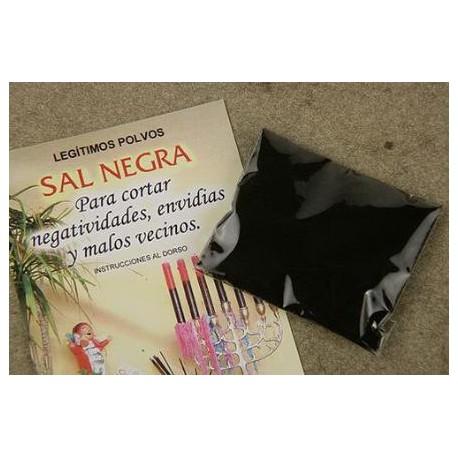 SAL NEGRA (para cortar negatividad y envidias)